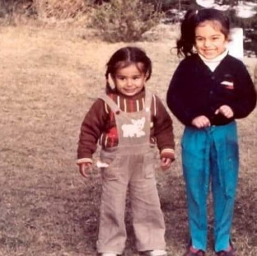 ripci bhatia childhood photo