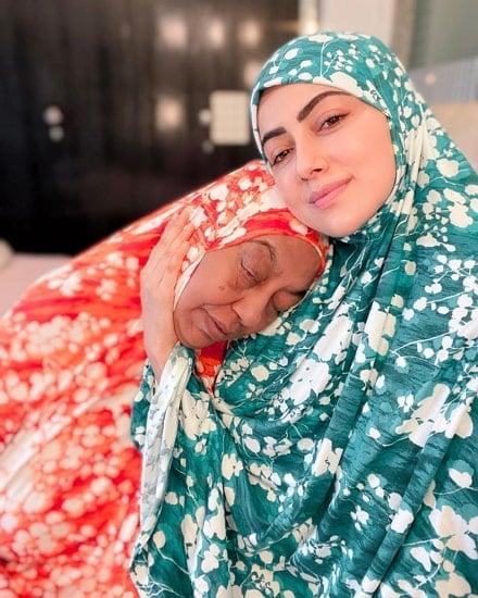 sana khan mother