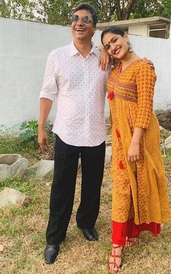 saniya iyappan father