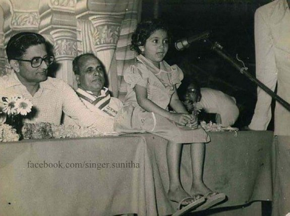 sunitha upadrashta childhood photo