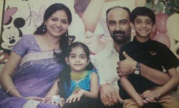sunitha upadrashta ex-husband