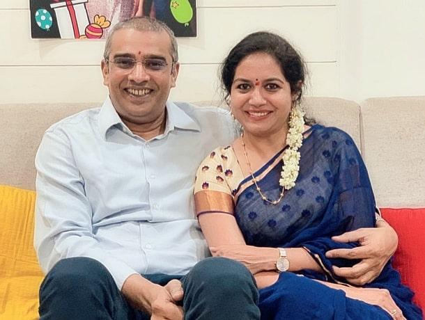 sunitha upadrashta husband