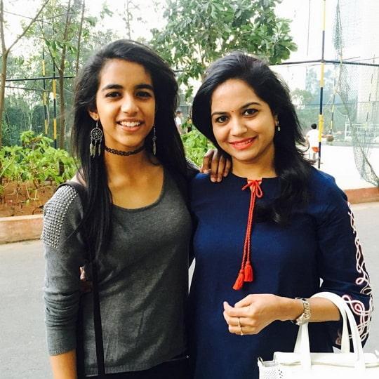 sunitha upadrashta daughter