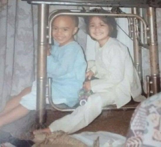 tanya maniktala childhood photo