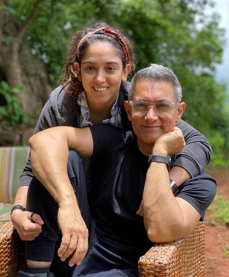 ira khan father