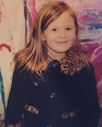mikayla nogueira childhood photo