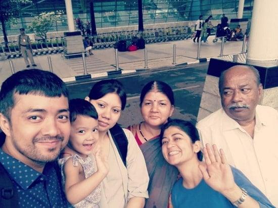 nidhi bisht family