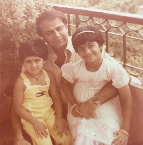 shamita shetty childhood photo