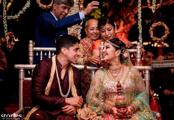 shweta tripathi marriage photo