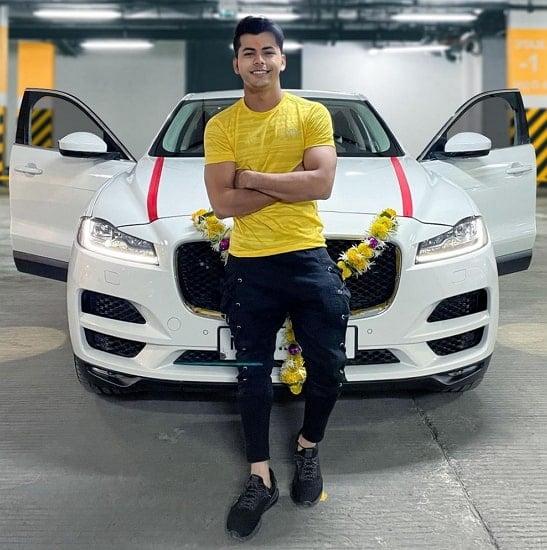 siddharth nigam new car