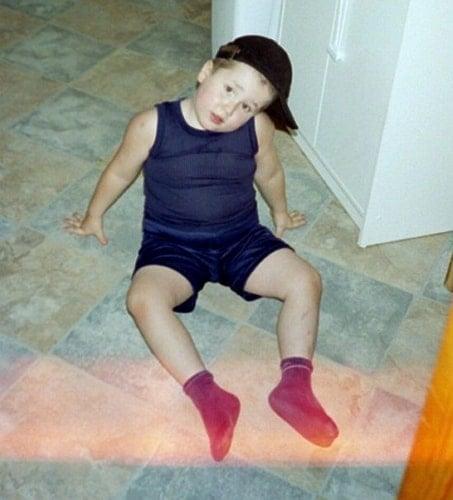 spencewuah childhood photo