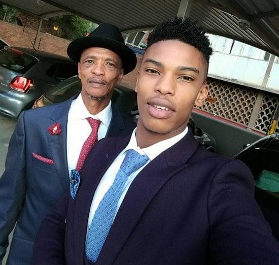 thabang molaba father