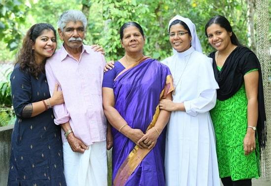 gilu joseph family