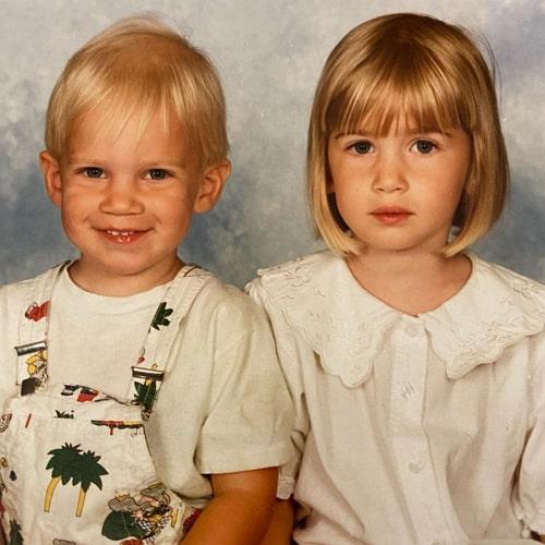 pewdiepie childhood photo