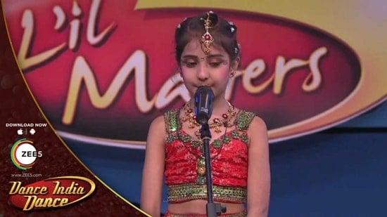akshita mudgal in dance india dance lil masters 2