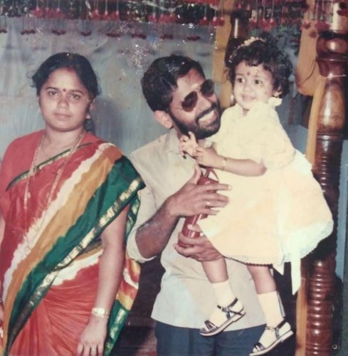 ananya childhood photo