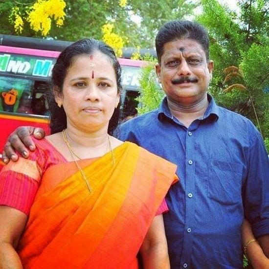 anumol rs karthu parents