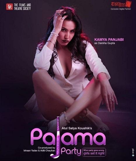 kamya punjabi in pajama party