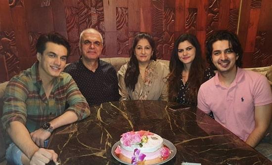mohsin khan family
