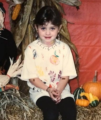 natalia dyer childhood photo