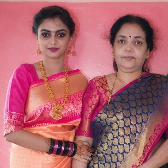 sukrutha nagaraju mother