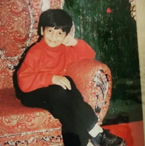 sumanth shailendra childhood photo