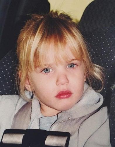 anastasia karanikolaou childhood photo