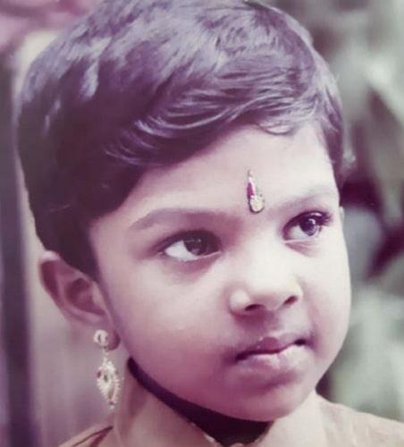 lekshmi jayan childhood photo