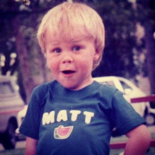 matt slays childhood photo