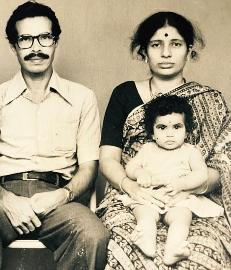 shubha poonja parents