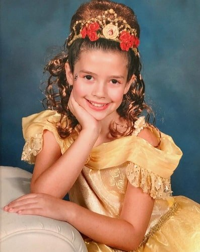 sissy sheridan childhood photo