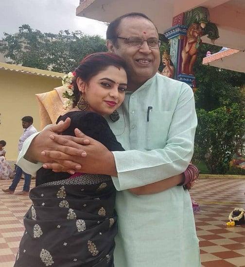 sukrutha nagaraju father