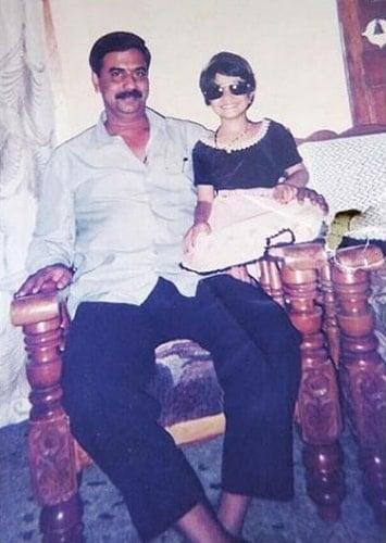 vaishnavi gowda childhood photo