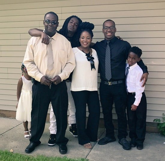 damien prince family