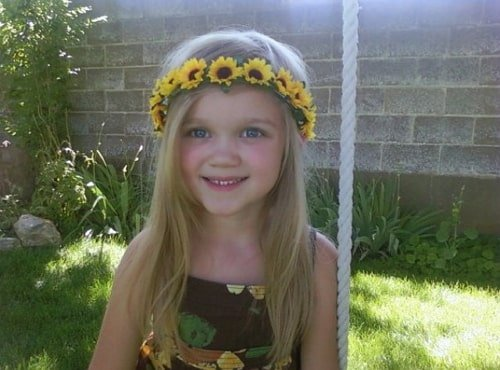 jaycie nicole memmott childhood photo