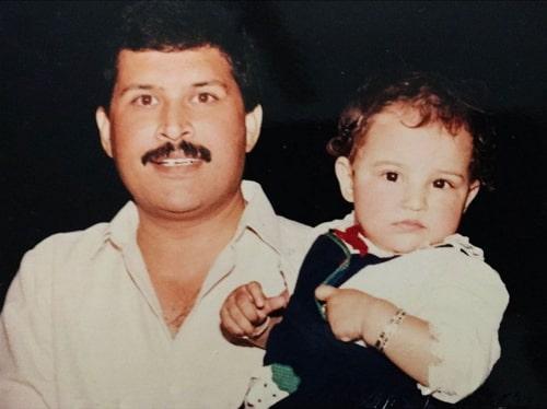 parineeti chopra childhood photo