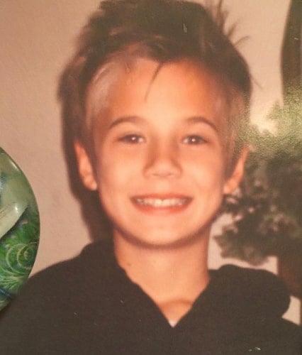 jaden hossler childhood photo