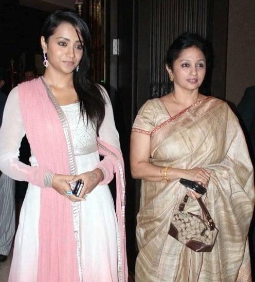 trisha krishnan mother