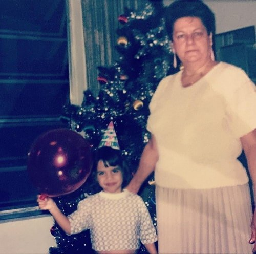 natalie morales childhood photo