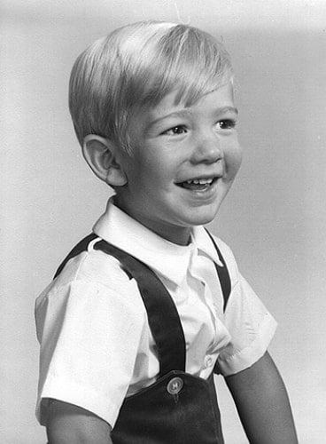 jeff bezos childhood photo